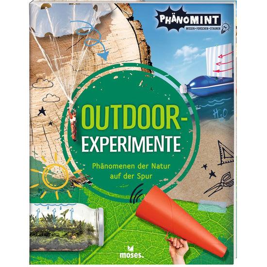MOSES PhänoMINT Outdoor-Experimente, Kinder-Sachbuch Naturwissenschaften