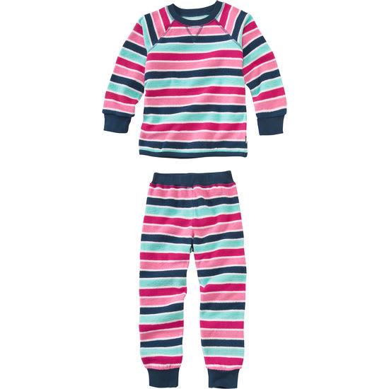 Kinder Schlafanzug Frottee JAKO-O, geringelt