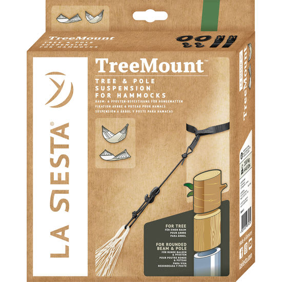 LA SIESTA TreeMount Baum- und Pfosten-Befestigung für Hängematten