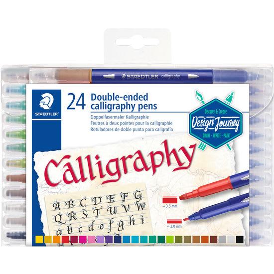 STAEDTLER® Doppelfasermaler Kalligrafie