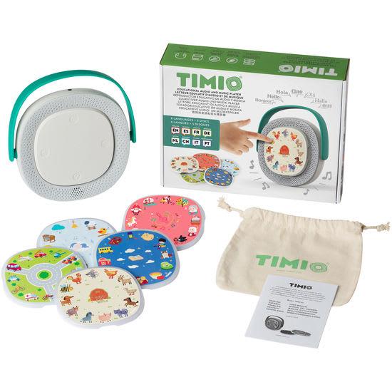 TIMIO Player, interaktiver Audio-Player, inkl. 5 Discs