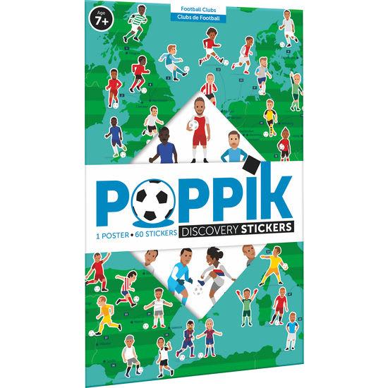 Poppik Sticker-Poster Discovery Fußball