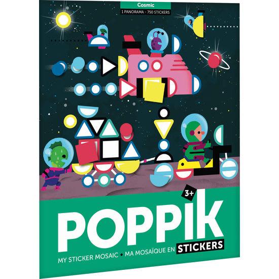Poppik Sticker-Poster Panorama Weltraum, 750 Sticker