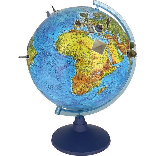 alldoro 3D Lexi Globus Ø 32 cm, Leuchtglobus mit IQ Globe App