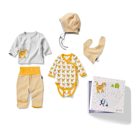 5-teiliges Baby Geschenk-Set Newborn JAKO-O