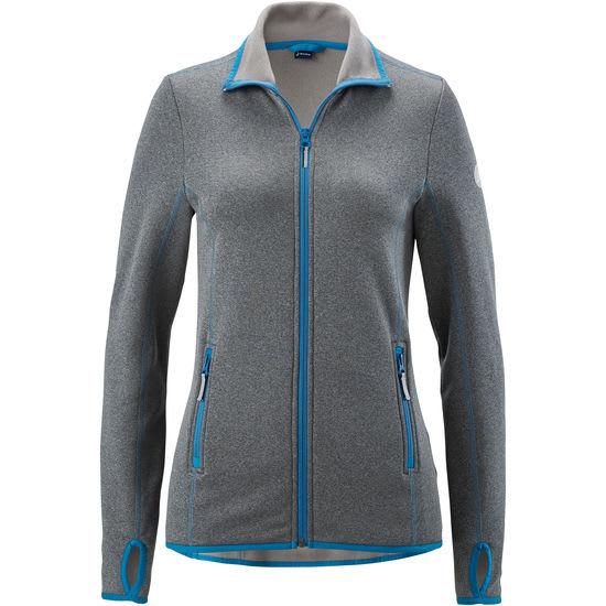 Polartec® Damen Power-Stretch-Fleece-Jacke, ultradehnbar