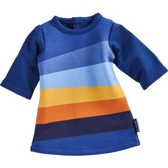Krümel Puppen-Kleid Streifen JAKO-O