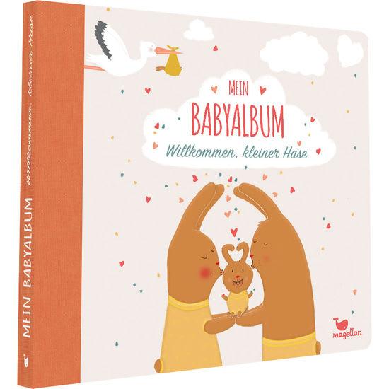 Mein Babyalbum – Willkommen, kleiner Hase