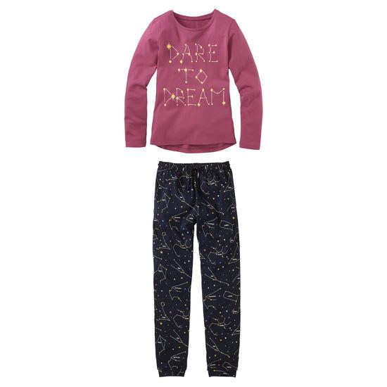 Mädchen Schlafanzug Sternzeichen FIT-Z